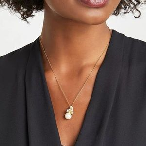 Kate Spade Love Me Daisy Pearl Necklace